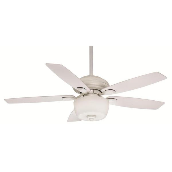 Casablanca Fan Utopian 52-inch Snow White (Damp Listed) with 5 Matte Snow White Blades 17994528