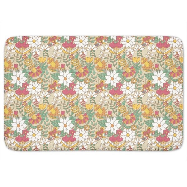 Gardens In Saint Petersburg Bath Mat