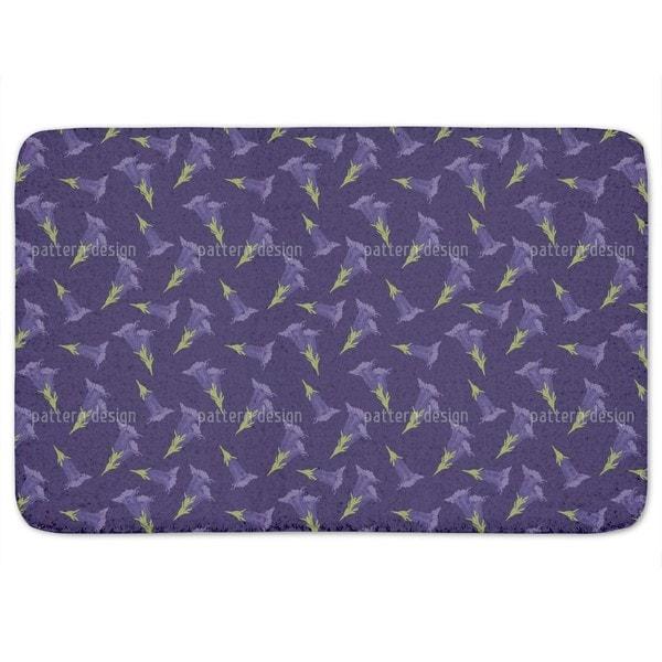 Gentian Blue Bath Mat