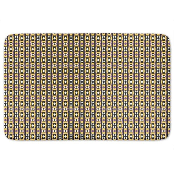 Geometry Latin Bath Mat