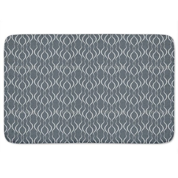 Georgina Grey Bath Mat