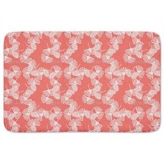 Ginkgo Red Bath Mat