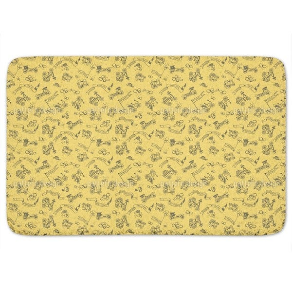 Golden Oldies Bath Mat