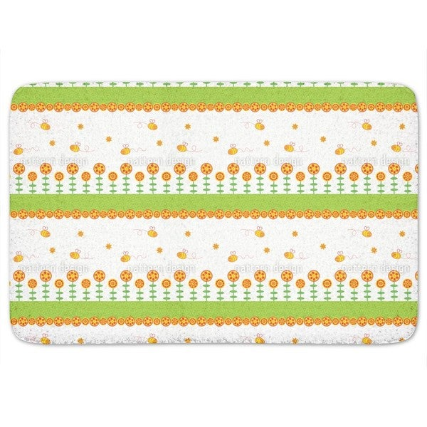 Happy Bees Bath Mat