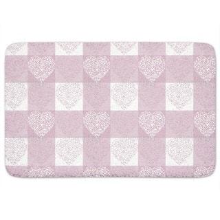 Hearty Lilac Bath Mat