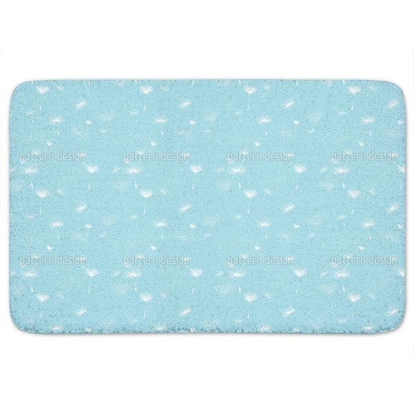 Heavenly Dandelions Bath Mat