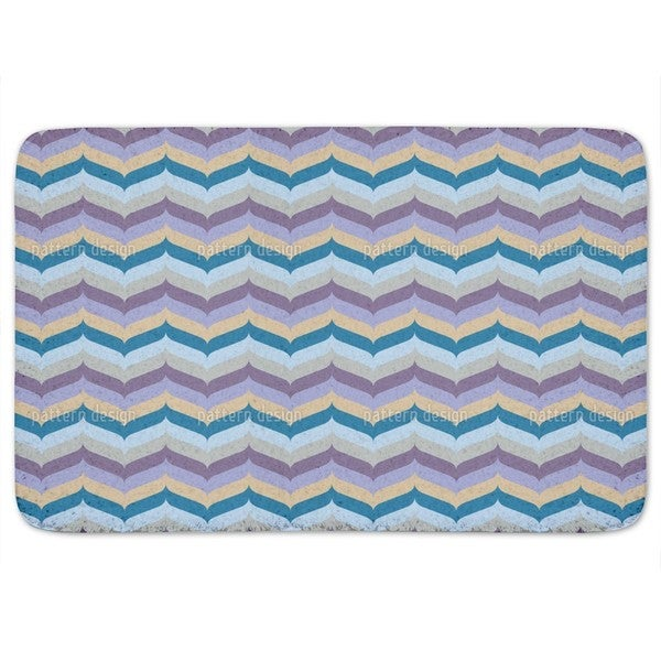 Herringbone Dawn Bath Mat
