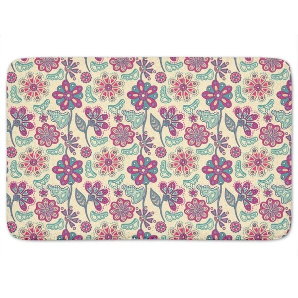 Flower Magic Bratislava Bath Mat