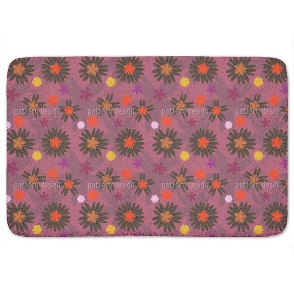 Flower Fantasy Bath Mat