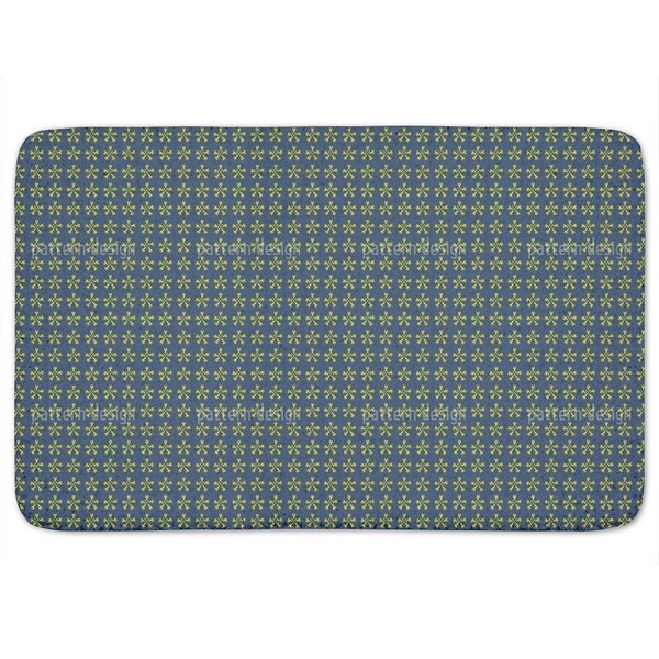 Flower Crossover Bath Mat