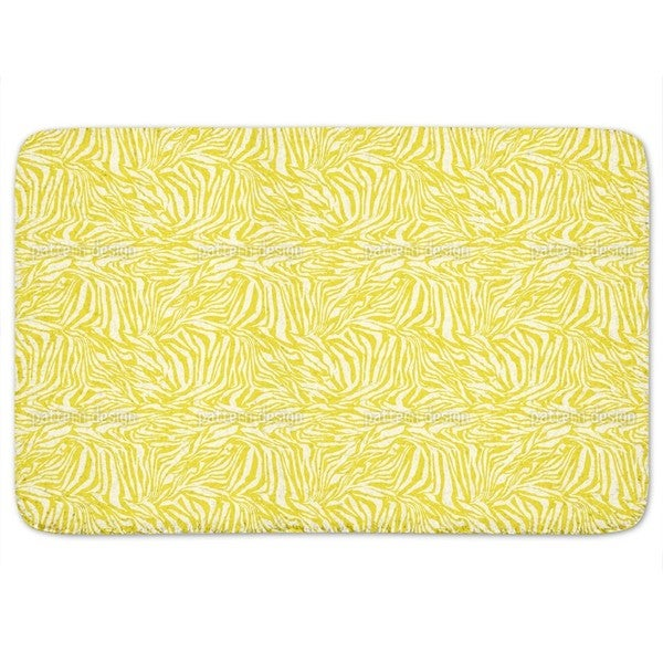 Zebra Vibrant Bath Mat 17995532