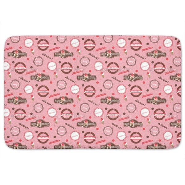 Yummy Pink Bath Mat