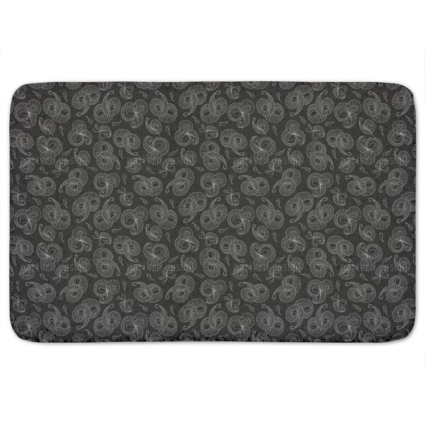 Winding Bath Mat