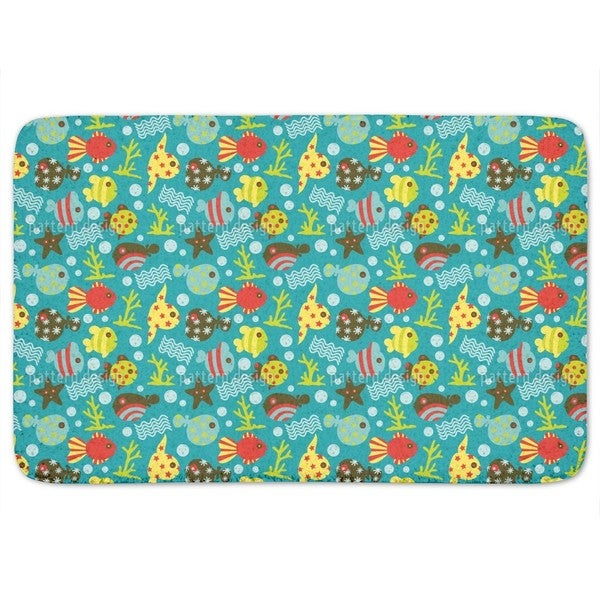 Waterworld Reef Bath Mat