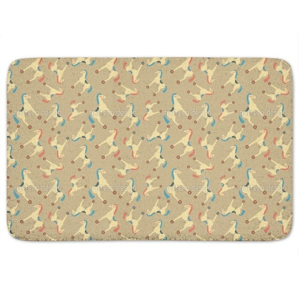 Toy Horses Bath Mat