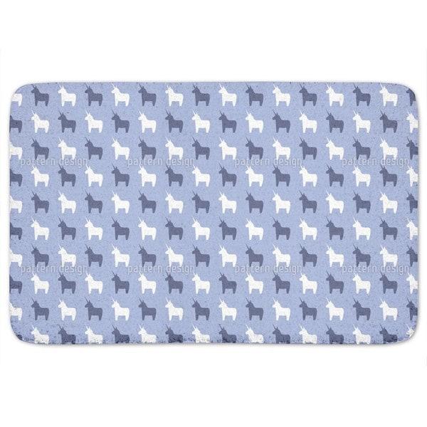 The Second Last Unicorn Bath Mat