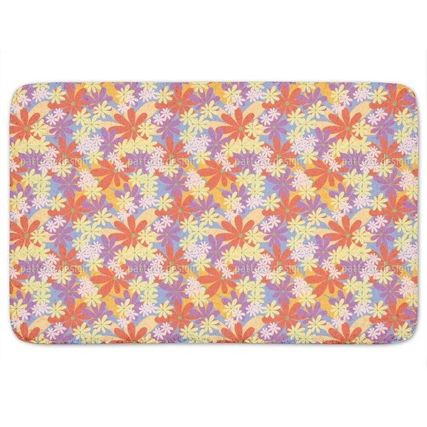 The Power Of Flowers Bath Mat