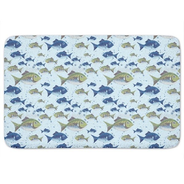 The North Sea Fish Bath Mat