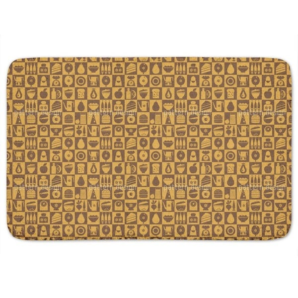 The Housewife Chess Bath Mat
