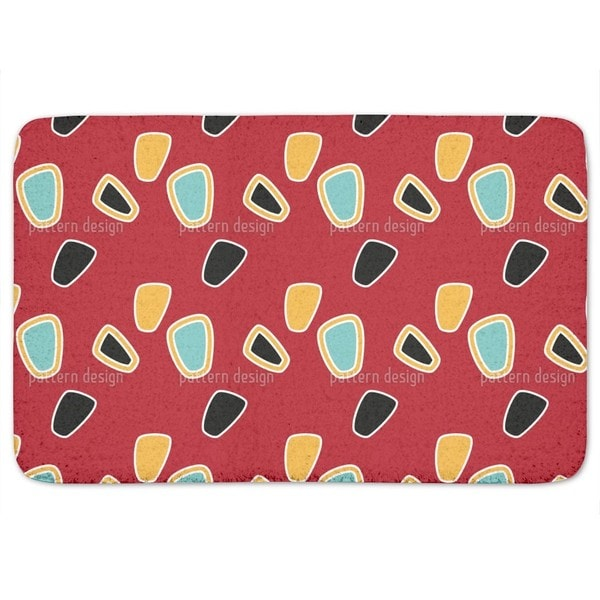 The Graphic Sixties Bath Mat