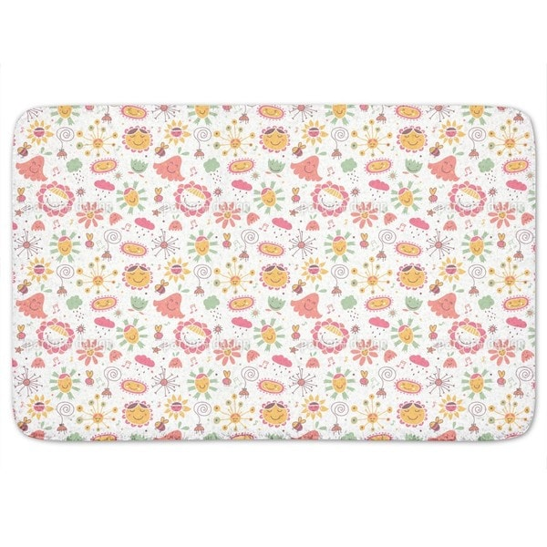 The Flower Song Bath Mat
