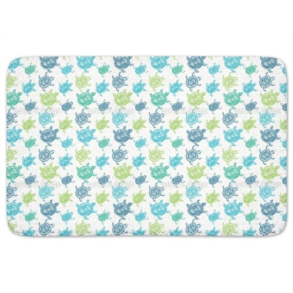 The Fantastic Journey Of The Sea Turtles Bath Mat