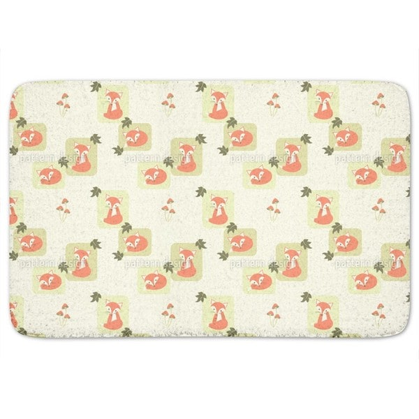 The Cunning Little Vixen Bath Mat