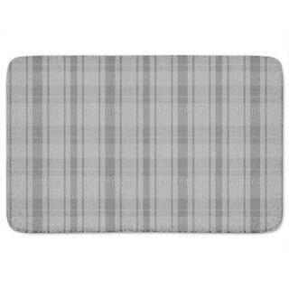Tartan Grey Bath Mat