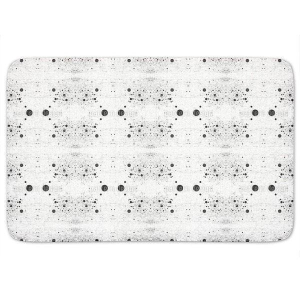 Symmetry In Dotted Chaos Bath Mat