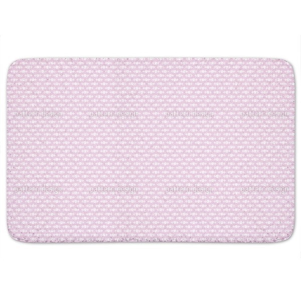 Sleeping Roses Baby Bath Mat
