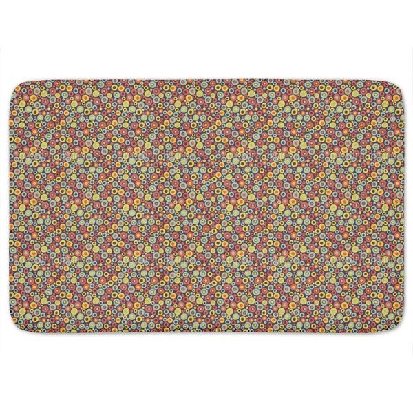 Searching For Dotty Bath Mat