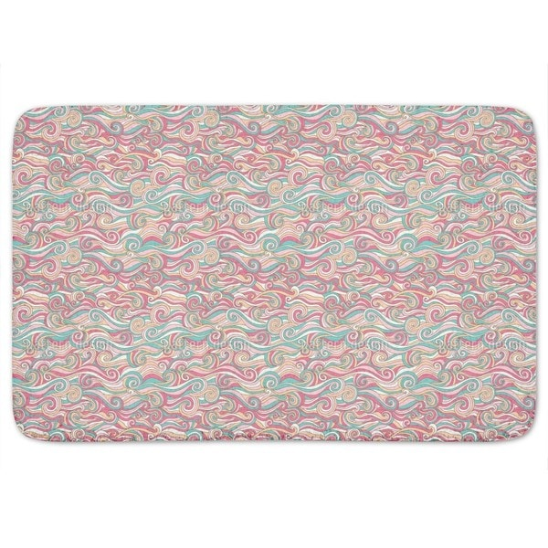 Sugar Sweet Curls Bath Mat