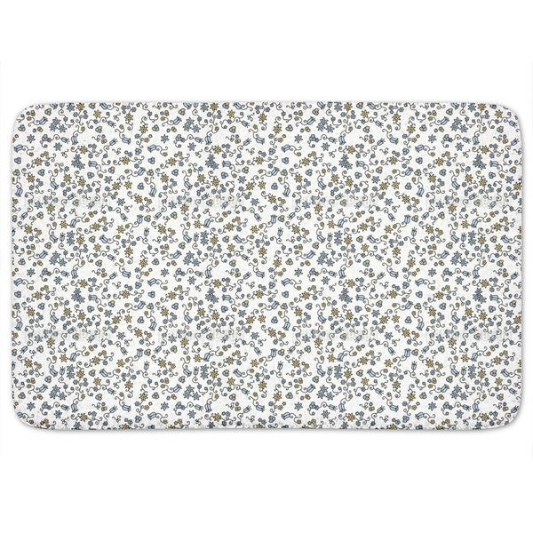 Sea Of Blossoms Everywhere Bath Mat 17996349