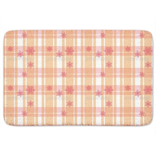 Scottish Stars Bath Mat