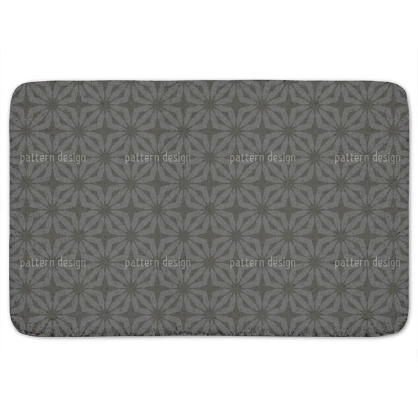 Stella Black Bath Mat