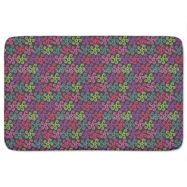Starfish Samba Bath Mat