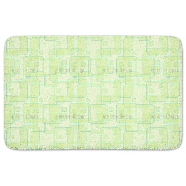 Square Theories Bath Mat