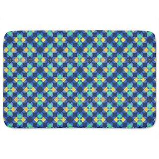Square Mosaic Bath Mat