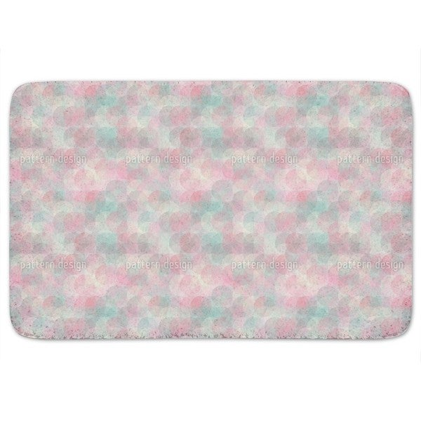 Rose Garden Around Bath Mat