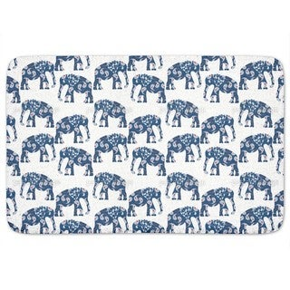 Patchwork Elephant Bath Mat