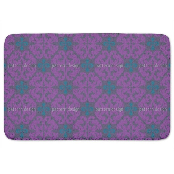 Paparock Purple Bath Mat