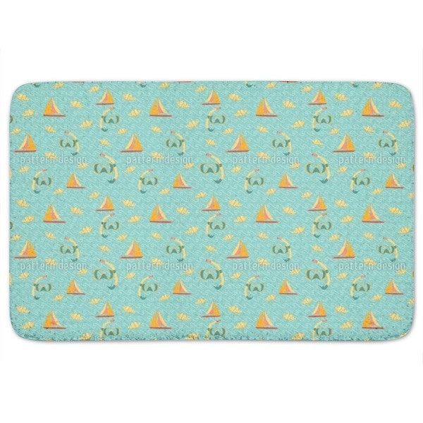 Ocean Fun Bath Mat