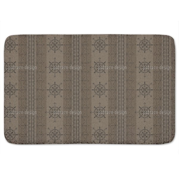 Nordic Brown Bath Mat