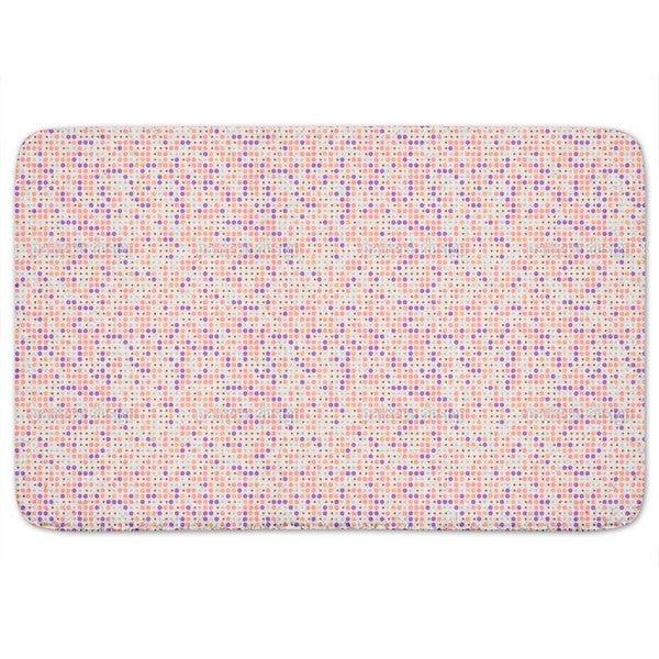 Sparkling Polka Dots Bath Mat