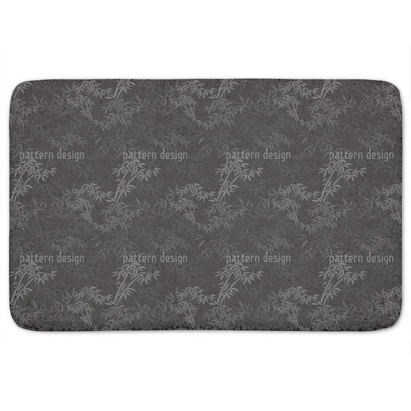 Night In The Bamboo Forest Bath Mat