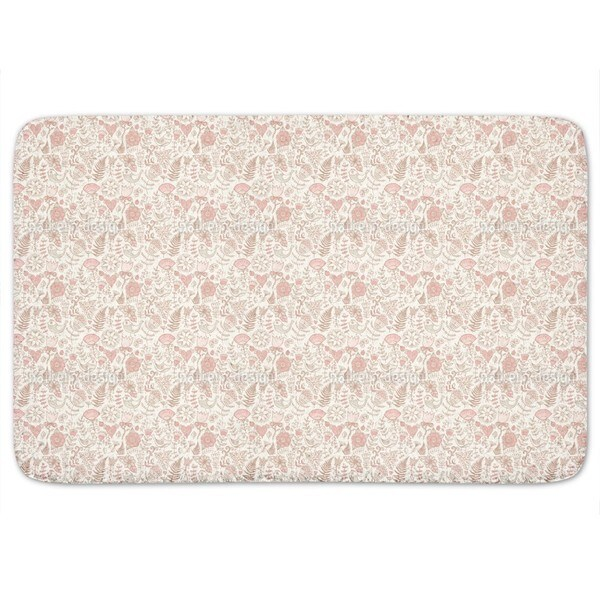 Softness Of The Paradise Birds Bath Mat
