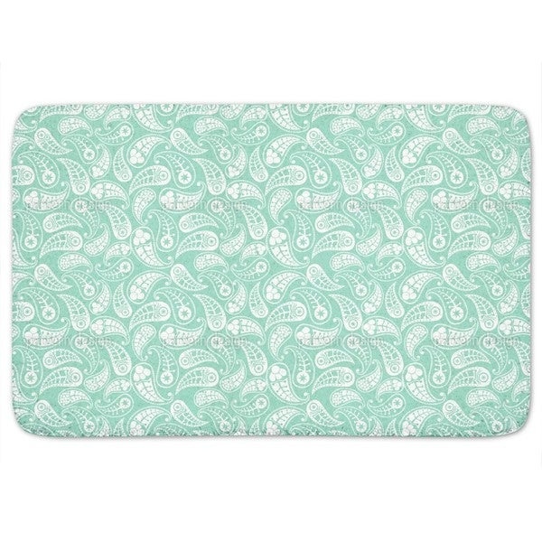 Naturally Paisley Bath Mat