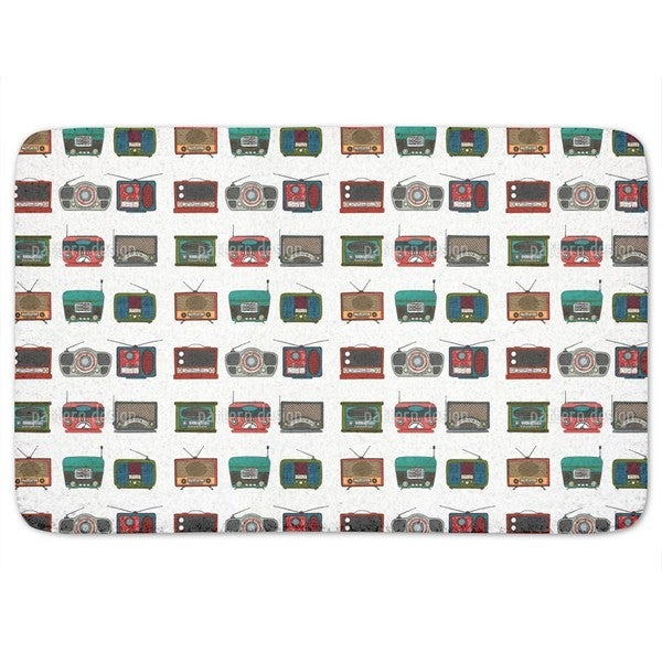 Retro Radio Bath Mat