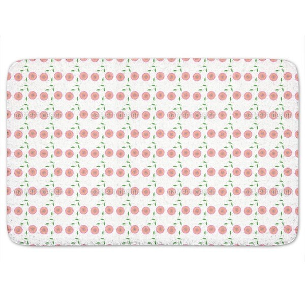Retro Bloom Bath Mat