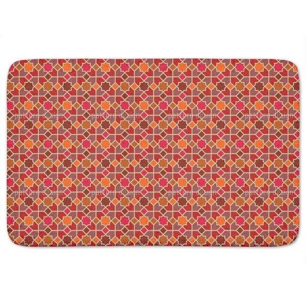 Morocco Red Bath Mat